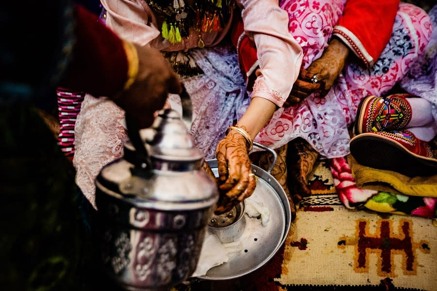 Photography of traditional Berber wedding in Morocco