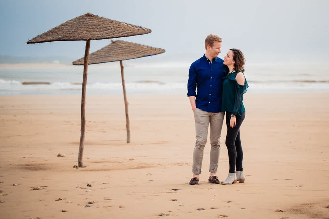 Engagement Photoshoot in Essouaria Morocco