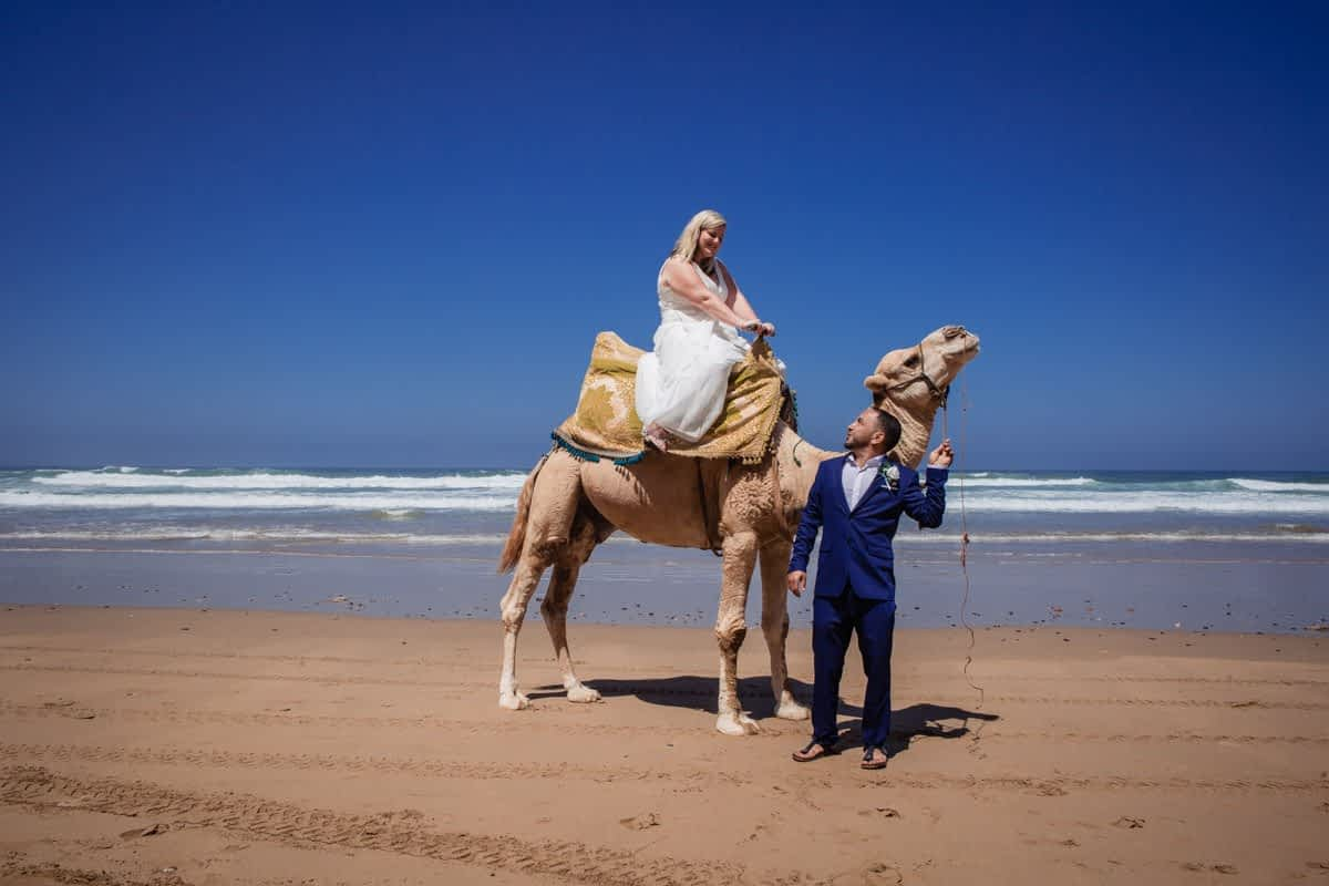 Photography of wedding in Sidi Ifni