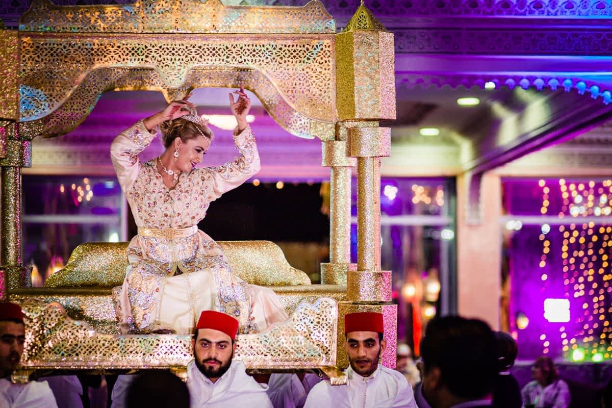 Intimate moroccan wedding in Fez
