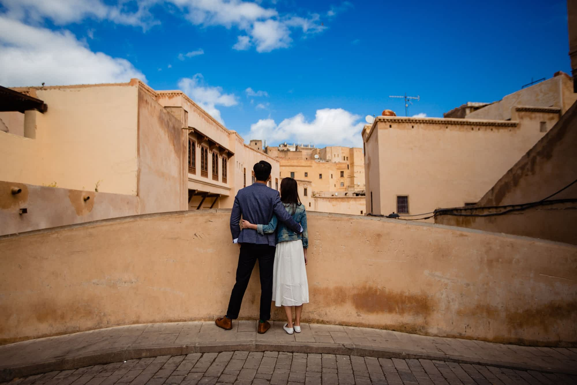 engagement photoshoot in Fez