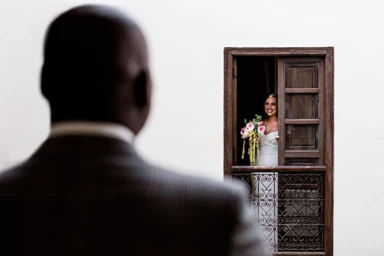 Elopement photography in Marrakech Morocco