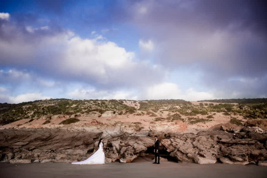 Agadir Beach wedding photoshoot