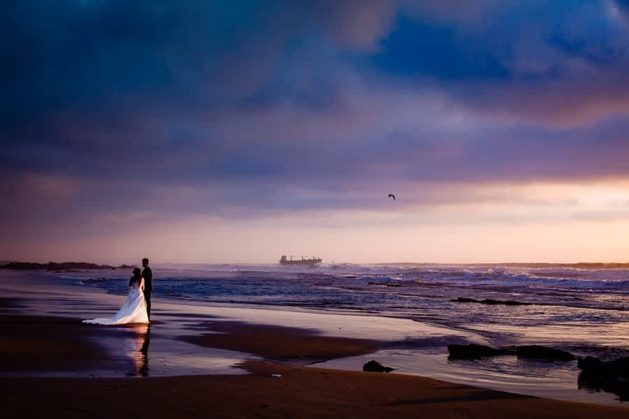 Beach wedding photoshoot Agadir