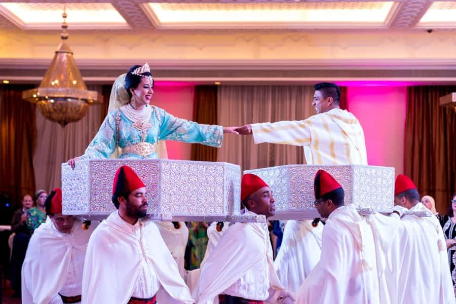 Traditional Moroccan and Indian wedding Marrakech