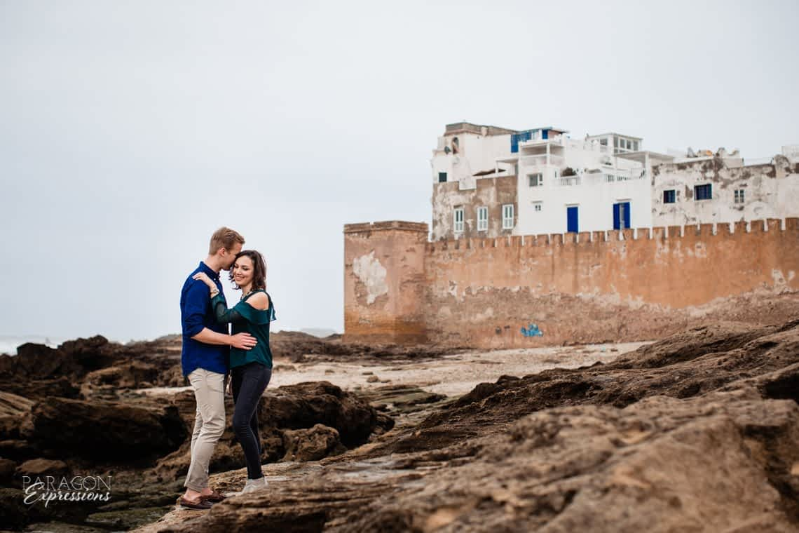 Engagement Photoshoot in Essouaria Morocco, Essaouira photographer