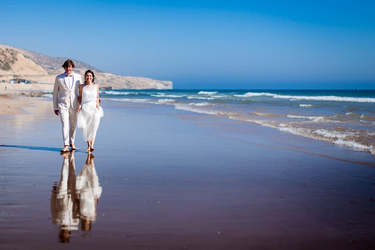 Agadir wedding at the beach