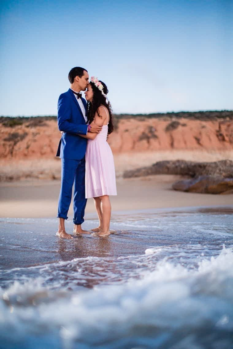 Couple photoshoot Agadir beach by Paragon Expressions, professional photographer Morocco