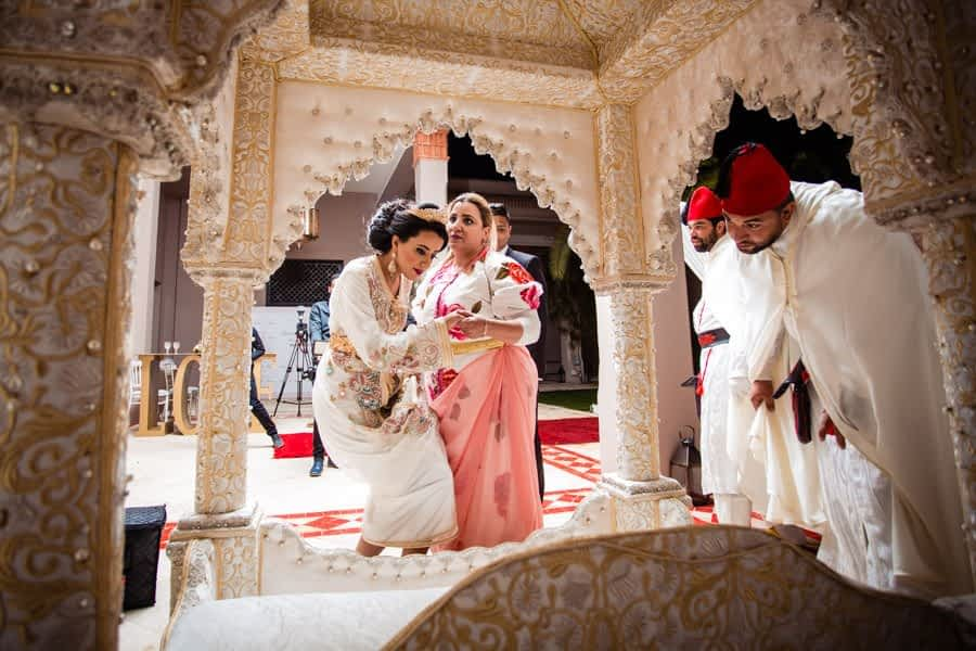 Mixed tradition wedding Marrakech