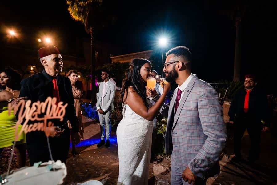 Wedding in Marrakech at Palace Lona