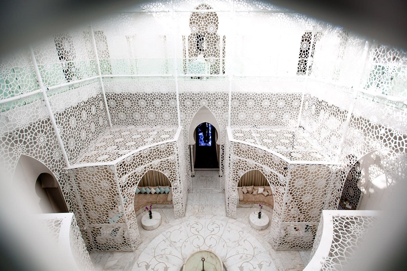 Beautiful photography at Royal Mansour