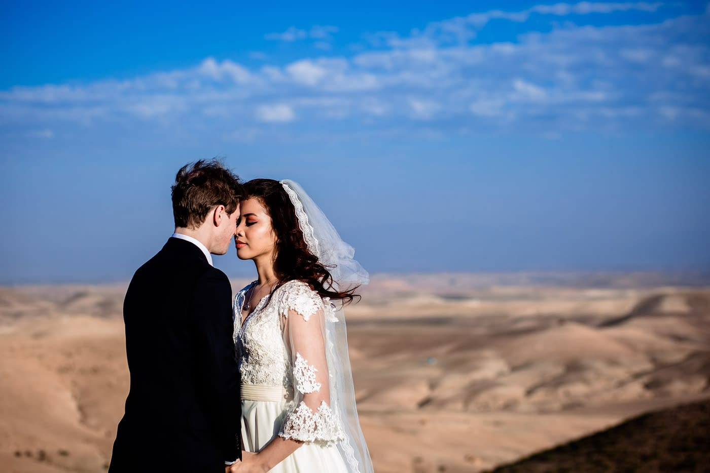 Beautiful Destination Wedding photography in Agafay Desert Marrakech