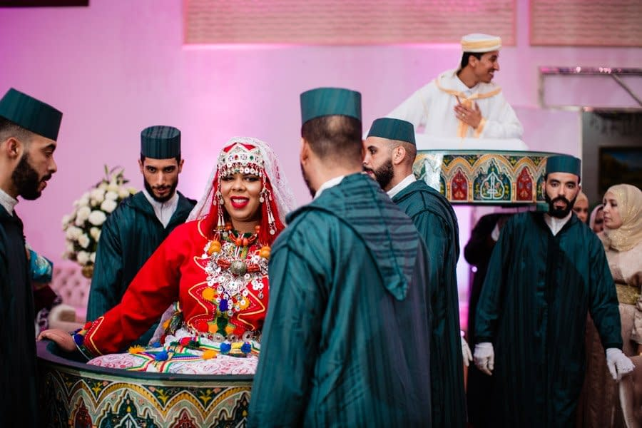 Photography of traditional Moroccan wedding