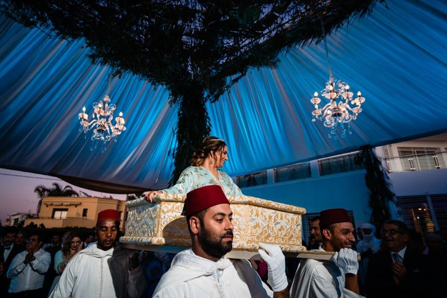 Wedding photography of a traditional Moroccan wedding in Rabat
